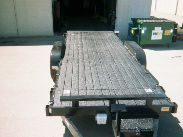Trailer Protective Floor Coating