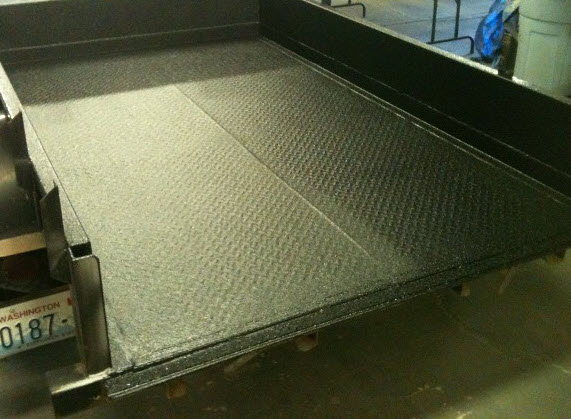 Trailer Spray On Bed Liner